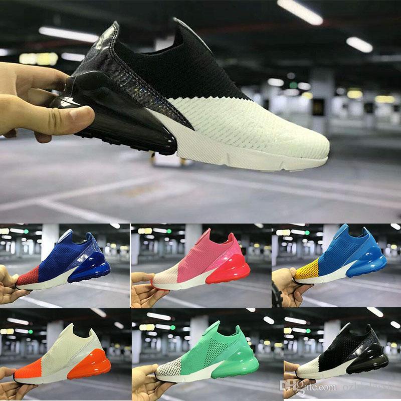cc4bb05fd0d8eb Infant Air Cushion 270 Kids Running Shoes Black White 270 270s ...