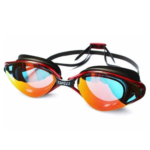 cece25b31bb Copozz Plating Mirrored Swimming Waterproof Glasses for Adults Sport ...