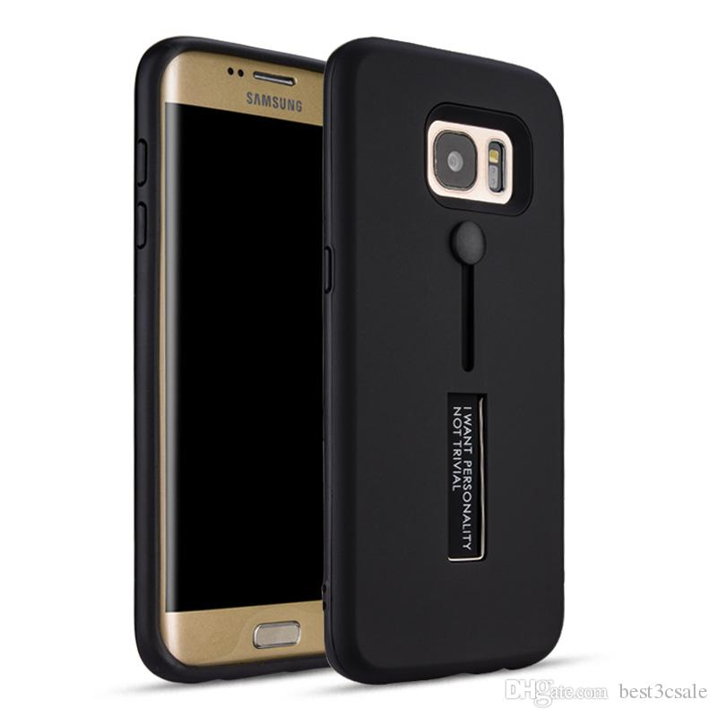 brand new 456df 843a9 For Huawei P10 Lite Case Fashion TPU PC 2 in 1 Kickstand Phone Case with  Hidden Ring for Nokia 8 Cover Redmi Note 4X P10 Plus Funda