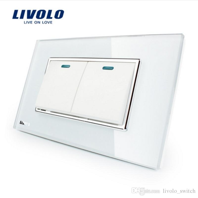 Online Cheap Manufacturer Livolo Luxury White Crystal Glass Panel ...