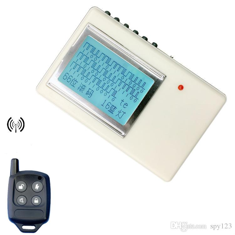 Versione Onnipotente Telecomando Telecomando CODICE CODICE CODICE CODICE GRABBER 315MHz 433MHz 5000 metri Disattivazione della distanza di trasmissione Scanner Dispositivo di decodifica