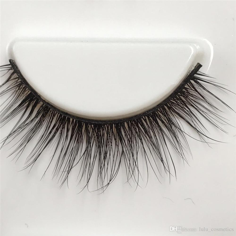 08fe0f2d3b5 Fake Eyelashes Synthetic False Lashes Mink Lashes 3D Volume Hand ...