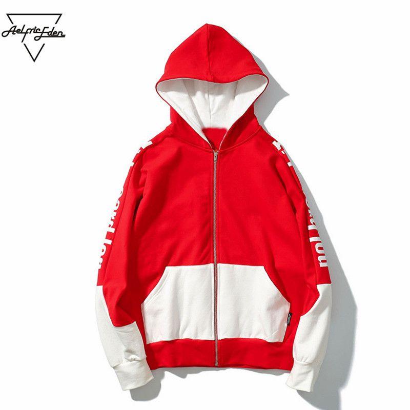 203763f721 Aelfric Eden Kanye West Men Casual Hoodies Jackets Winter Jacket Men ...