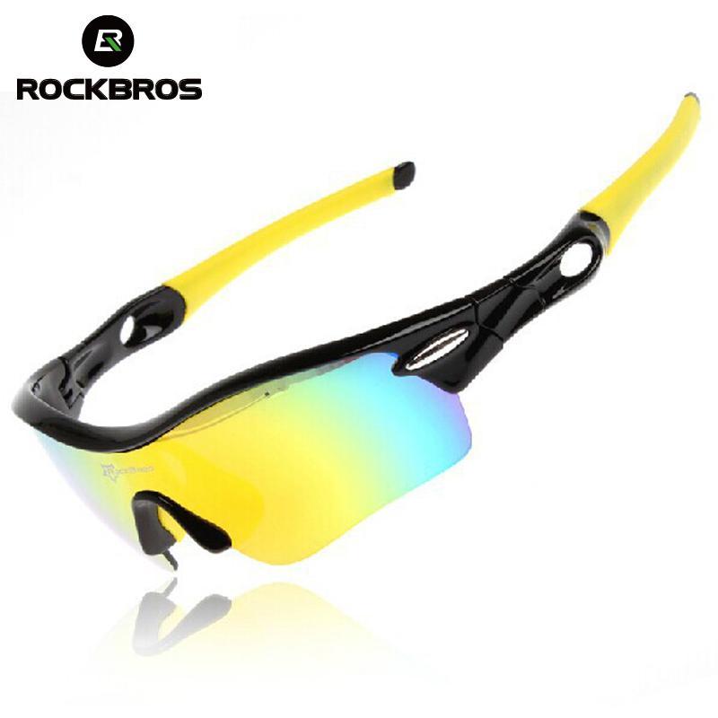305e5bbddc ROCKBROS UV400 Polarized Cycling Bike Sun Glasses Outdoor Sports ...