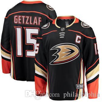 Best 2018 Nhl Hockey Jerseys Cheap Custom Men S Anaheim Ducks Ryan Getzlaf  Fanatics Branded Black Breakaway Player Store Usa Sports Ice Jersey Under   20.12 ... 65a591b75