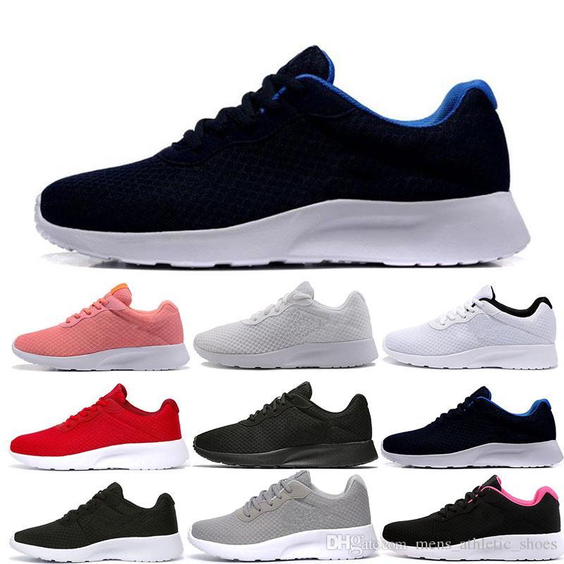 release date: a9fa6 b617e Acquista Nike Scarpe Da Ginnastica Sportive Di Marca Da Uomo Sneakers  Griffate Da Uomo Tanjun Nero Bianco Scarpe Da Running Da Passeggio  All aperto Da Donna ...
