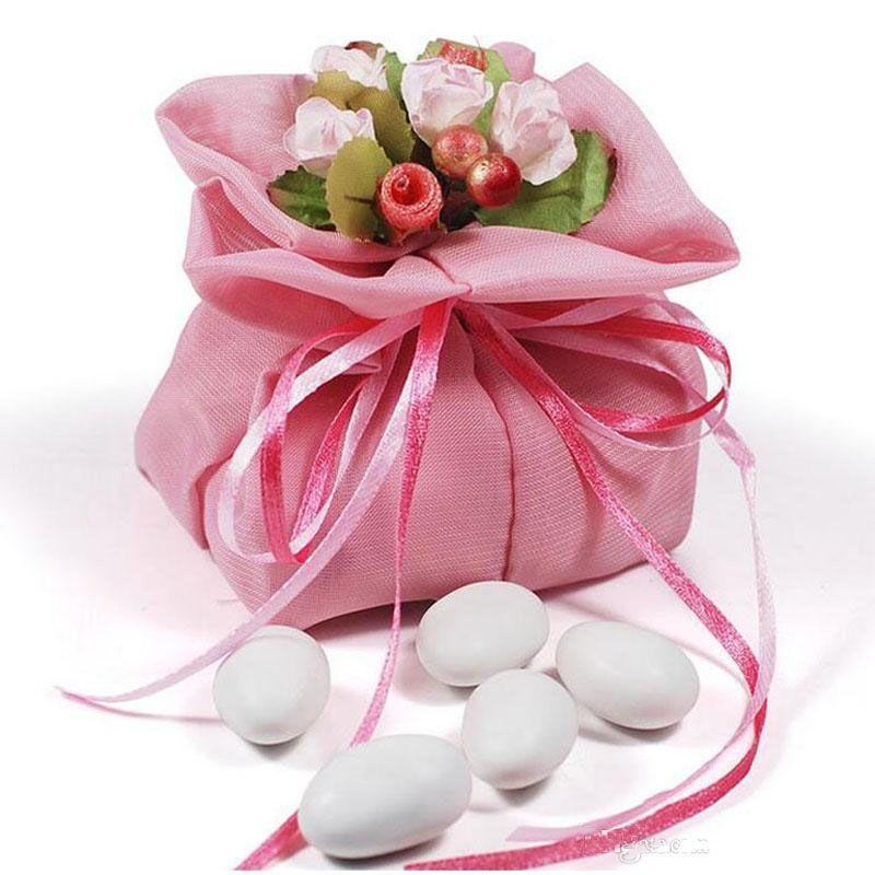 Wedding Favors And Gift Bag Cloth Yarn Bag Candy Sweet Chocolate