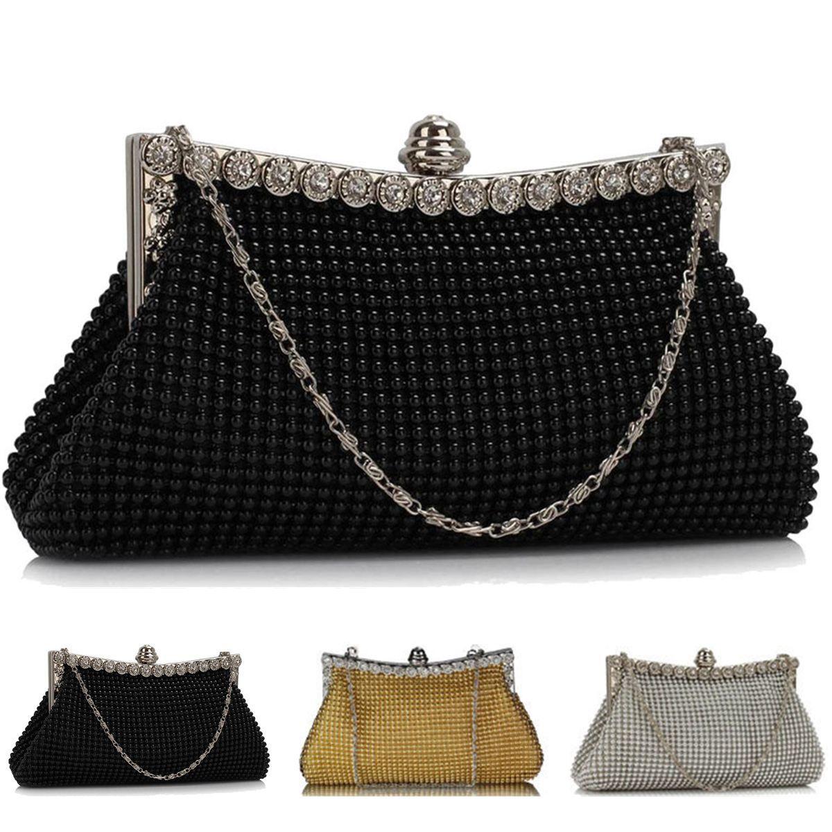 9b3d7fef39 Women Handbag Ladies Evening Clutch Crystal Evening Bags Shinestone ...