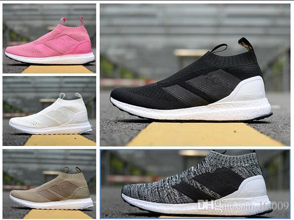 100% Original Ace 16 Shoes Ultra Boost II Uncaged Running Shoe Men Beckham Casual Shoes pink grey Athlect shoes size 36-45 2015 cheap online sale best seller with mastercard online pxIM12AJL