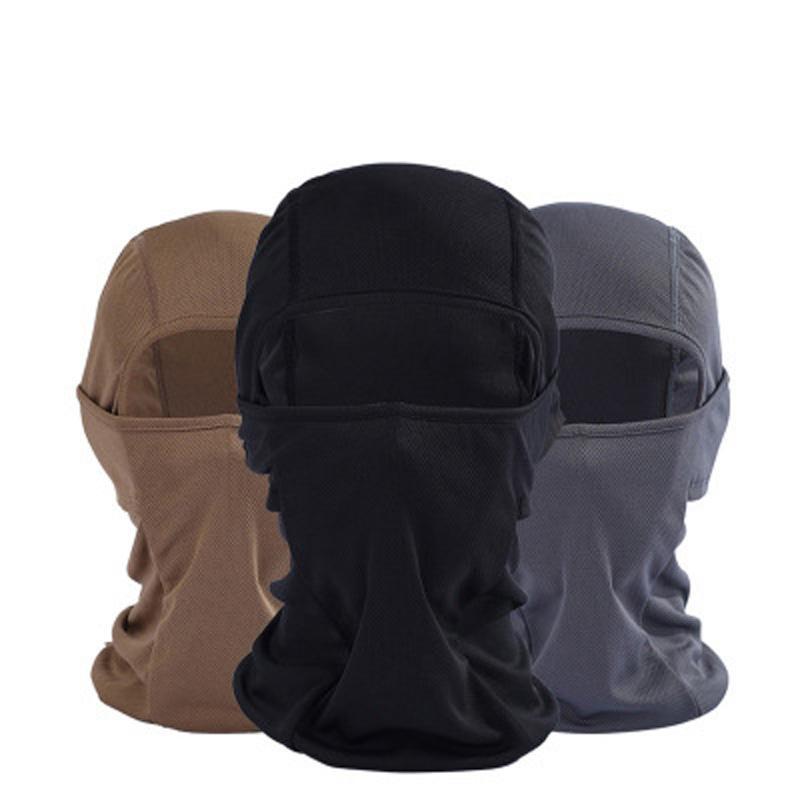 Tier Gedruckt Unisex Camo Hüte Polyester Atmungsaktiv Wind Jagd Sport Schal Ansatz Halbe Gesicht Kleidung Zubehör Kopfbedeckungen Für Herren