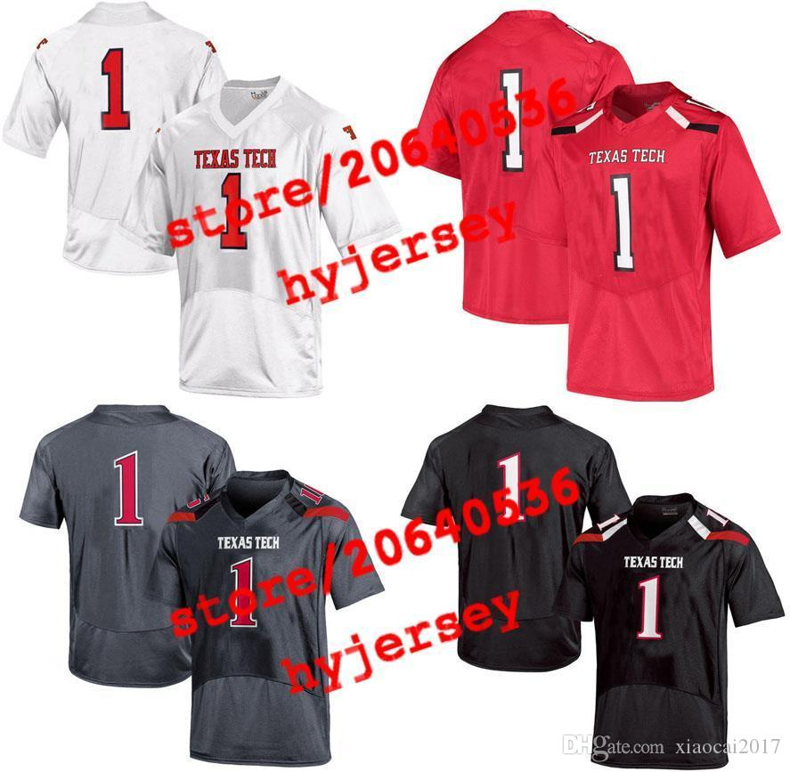 47002ec74 2019 Cheap Custom Texas Tech Red College Jersey Mens Women Youth Kids  Personalized Any Number Of Any Name Stitched White Football Jerseys From  Xiaocai2017