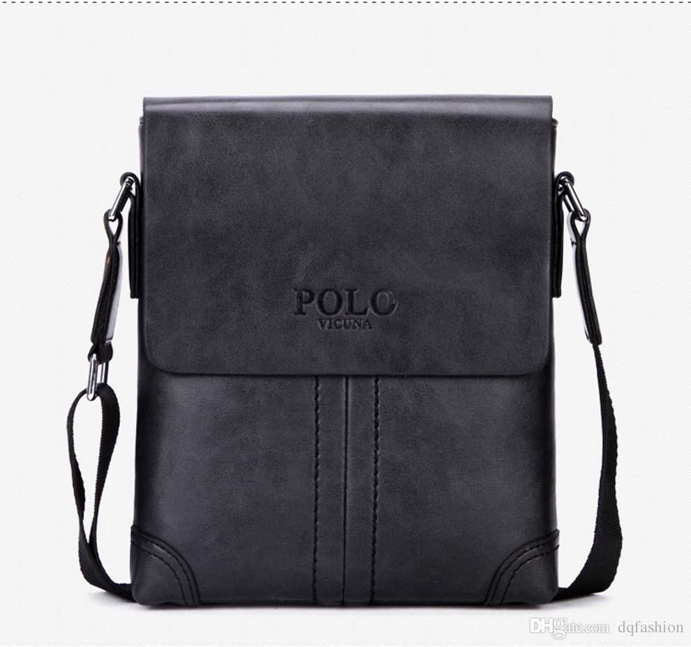 Famous Brand Leather Men Bag Briefcase Casual Business Leather Mens Messenger Bag Vintage Men's Crossbody Bag bolsas male