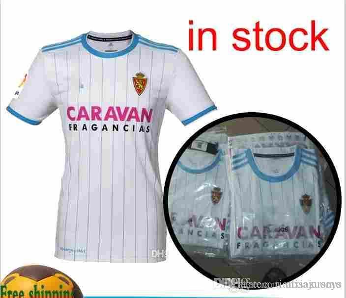 18 19 Real Zaragoza En Casa Fútbol Jersey 2018 2019 Zaragoza Real Zaragoza  ZAPATER HULIO Iglesias Camisetas De Fútbol Por Alisajerseys a7f7c0b91a4ef