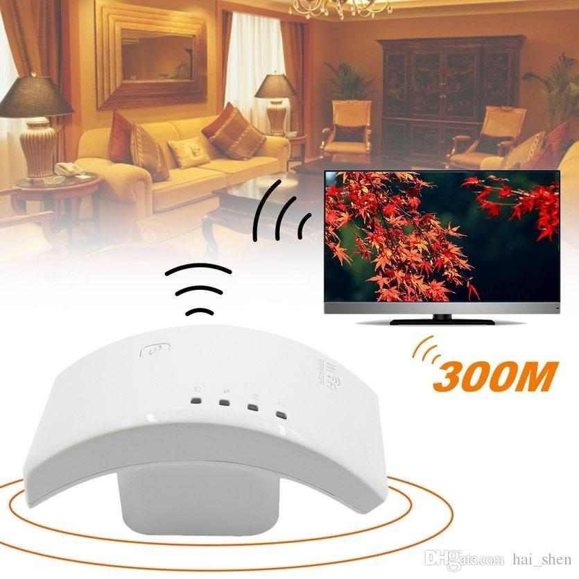 New Wireless 300Mbps WIFI Router Booster Repeater Network Roteador Range Expander US/EU/UK/AU Plug