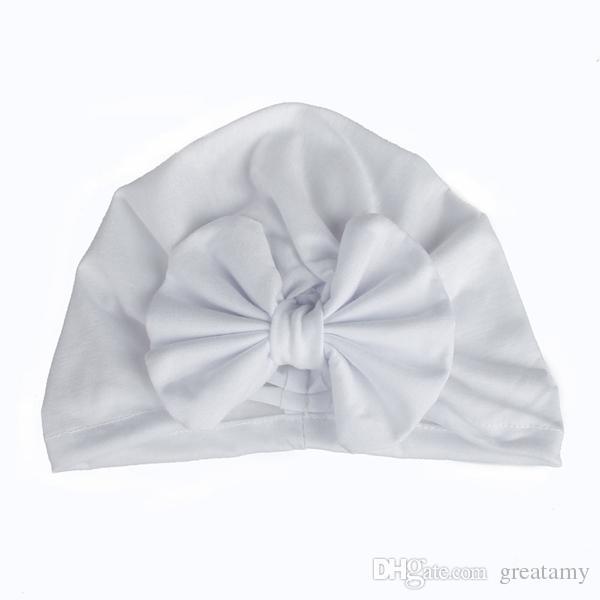 Nette Neugeborene Bowknot Cap Mädchen Jungen Baby Fotografie Turban Caps Zubehör Kinder Bogen Beanie Hat Top-Qualität