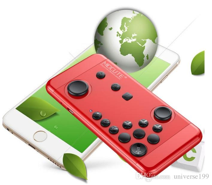 MOCUTE-055 Wireless Gamepad Bluetooth Game Controller For Andriod Smart Phone TV BOX PC Joystick Controller Shutter Remote free DHL