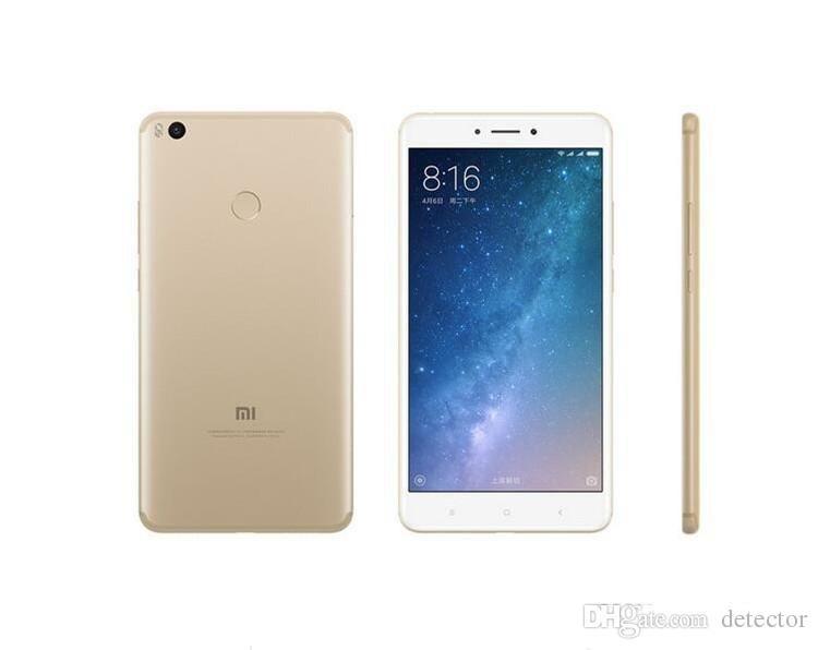 Unlocked Original Xiaomi Mi Max 2 Max2 Mobile Phone 4GB RAM 64GB ROM Snapdragon 625 Octa Core 6.44inch 12MP Fingerprint 4G LTE Cell Phone