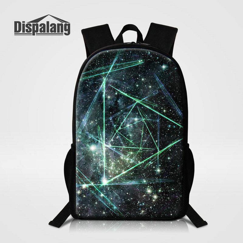 Newly Design Children School Bags For Girls Boys Geometric Printing ... 8254d75560cb9