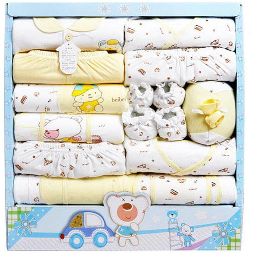 9868c47ded4b3 2019 /Set High Quality 100 %Cotton Newborn Baby Clothing Gift Sets Infant  Cute Suit Baby Girls Boys Clothes Gift From Sport_xgj, $32.37 | DHgate.Com