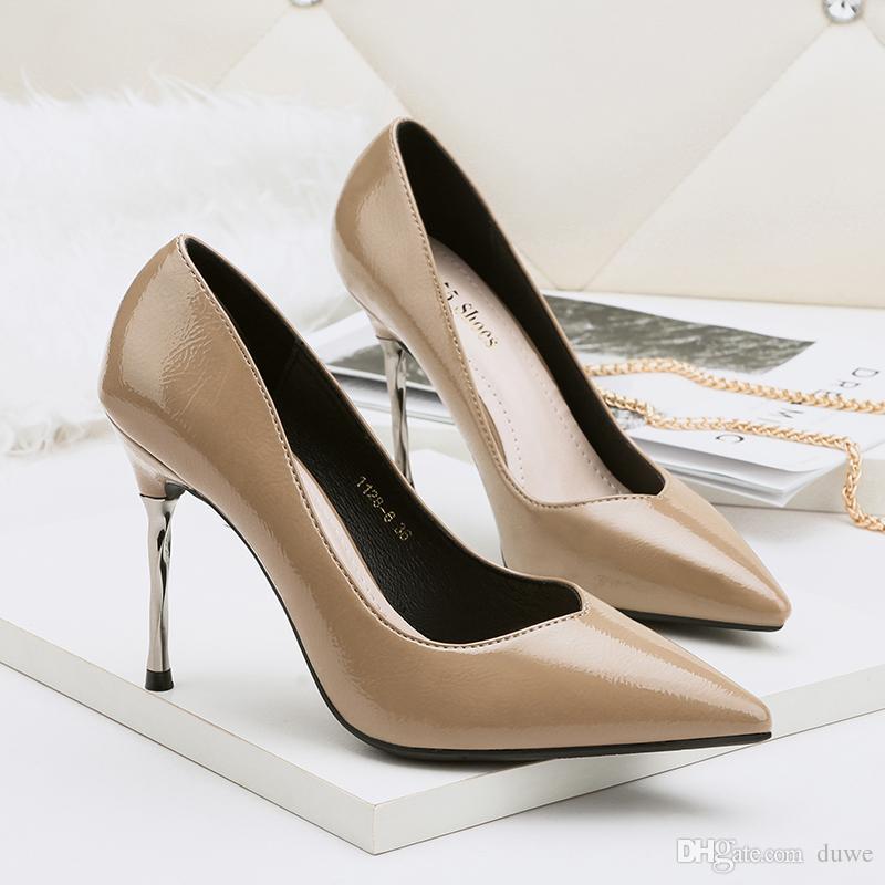 Il miglior regalo per donna e madre Per donna Scarpe Brillantini Primavera Autunno Decolleté Cinturino alla caviglia scarpe da sposa A…