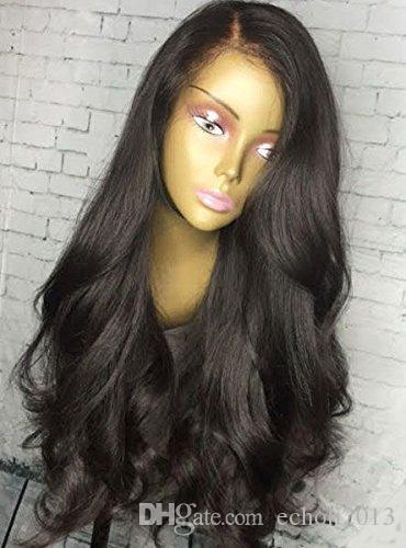 250% densidade ondulado em linha reta peruca dianteira do laço 360 pré-arrancadas naturais da linha fina glueless lace fornt perucas para as mulheres negras