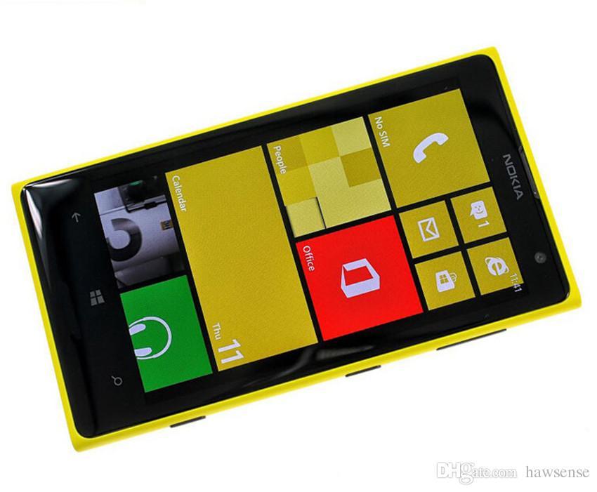 "Refurbished Original Nokia Lumia 1020 Windows Phone 4.5"" Dual Core 2GB RAM 32GB ROM 4G LTE Unlocked Mobile Phone Free Post Shipping"