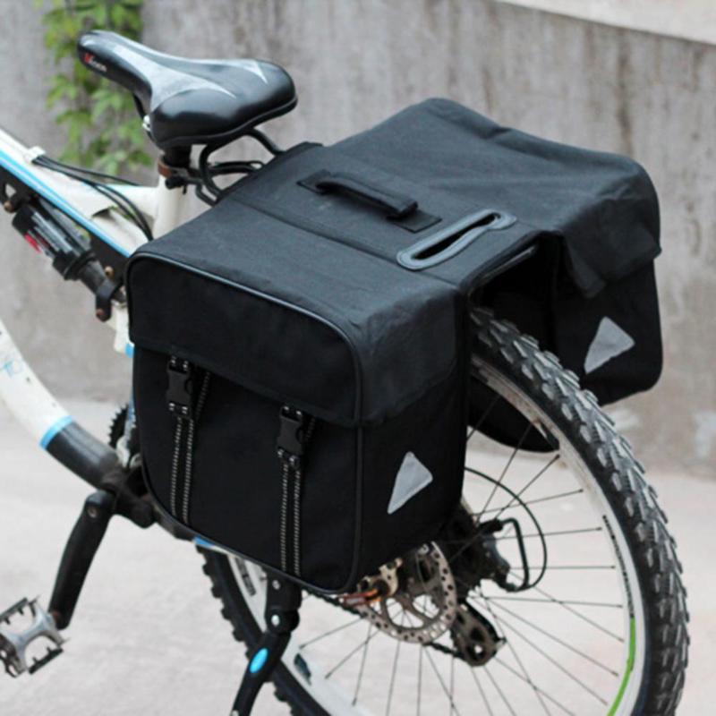 Biycle Seat Bag Mtb Mountain Bike Rear Rack Bag Waterproof Bicycle