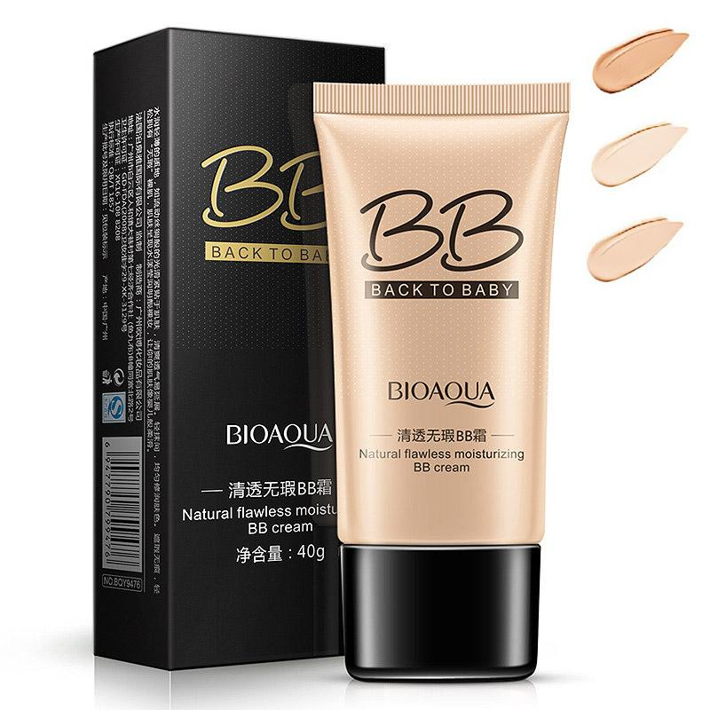 bioaqua natural flawless bb cream whitening moisturizing concealer