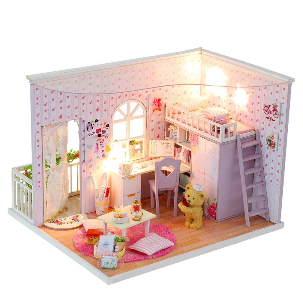 Diy 3d Miniature Doll House Special Best Times Dollhouse Model