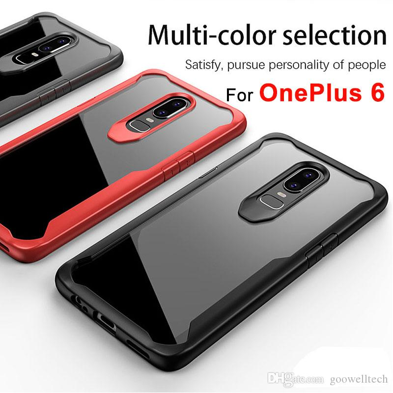 7d7cfedd715 For Oneplus 6 Case Cover Anti Knock Clear Phone Case For OnePlus 6 Soft TPU  Silicone Back Cover Protective Case For One Plus 6 Six Custom Cell Phone  Cases ...