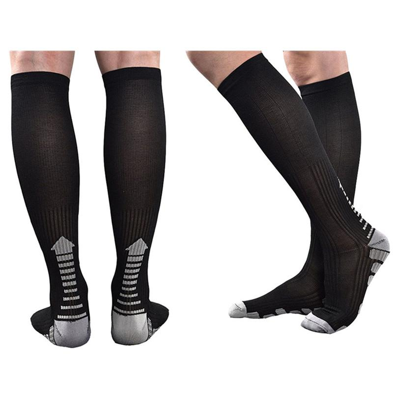 83877ada7a 2019 Men Women Graduated Compression Socks Athletic Performance Long  Stockings For Fast Recovery,Running,Fitness,Bicycling From Kangshifuwat, ...