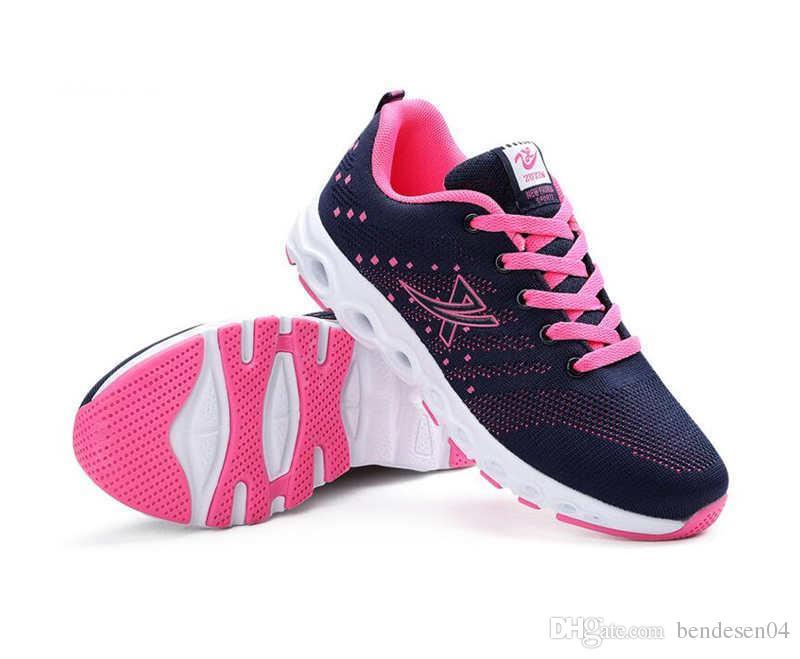 ... c009b 93065 Womens Low Top Sports Shoes Women Flats Shoe Adults Sneaker  Shoes Running Shoes Size ... 20e2e20f8