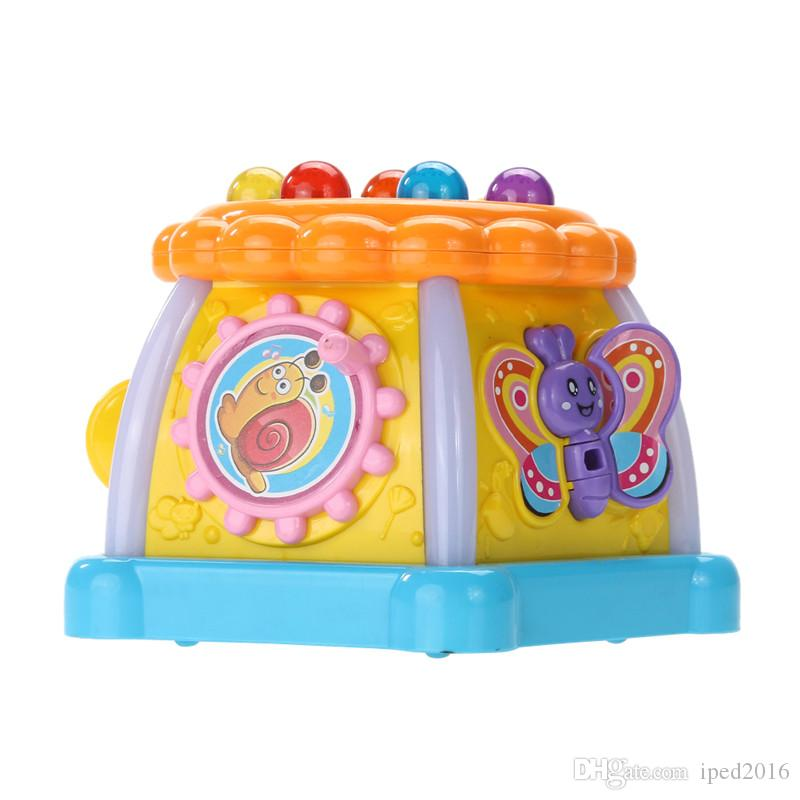 Children Electronic Game LED Educational Toy Musical Kids Learning Child Study Developing Games Colorful