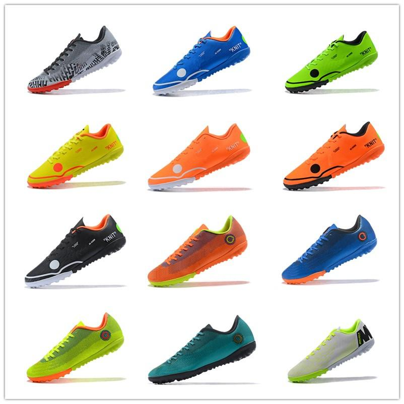 pretty nice 21835 2b05c 2019 2018 Cheaper Mercurial Vapor XII TF Men S Soccer Boots Sivler Black  White Soocer Shoes World Cup Soccer Cleats Best Football Shoe From Ggg 01,  ...