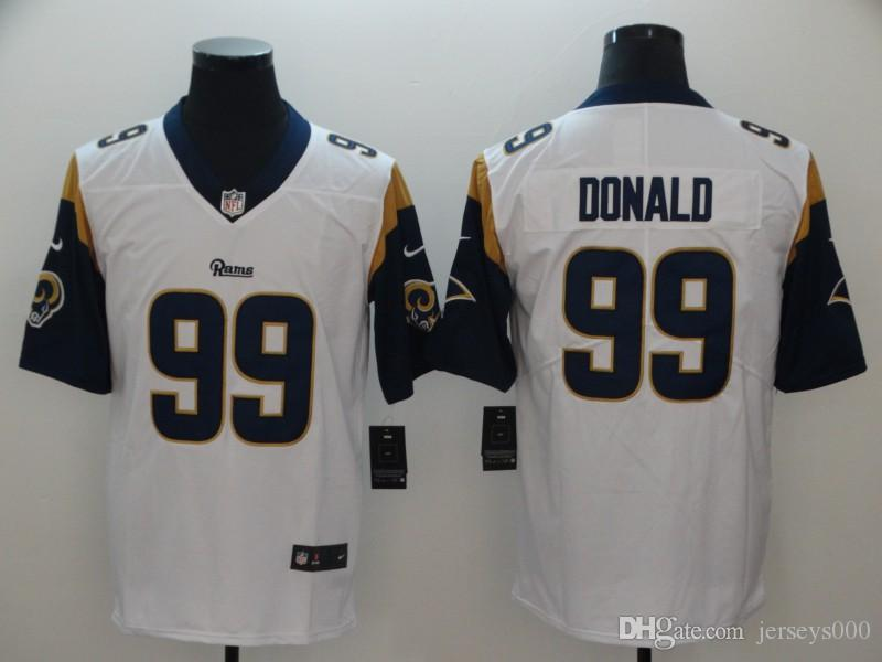 905236d34 2018 30 Todd Gurley II Jersey Jared Goff Aaron Donald Los Angeles Rams  Personalized Game American Football Jerseys Womens Men Youth Kids Factory  From ...