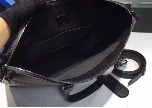 Wholesale Retail Classic Men Purse Leather Briefcases Designer Handbag Shoulder Bag luxury branded bags EXPLORER OL briefcase with letter