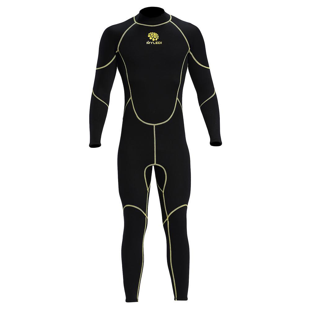 Compre 2018 Traje De Buceo Para Hombre De 3 Mm Volver Con Cremallera Traje  De Cuerpo Entero Protección UV Caliente Natación Surf Traje De Snorkel  Neopreno ... e27b38d9832