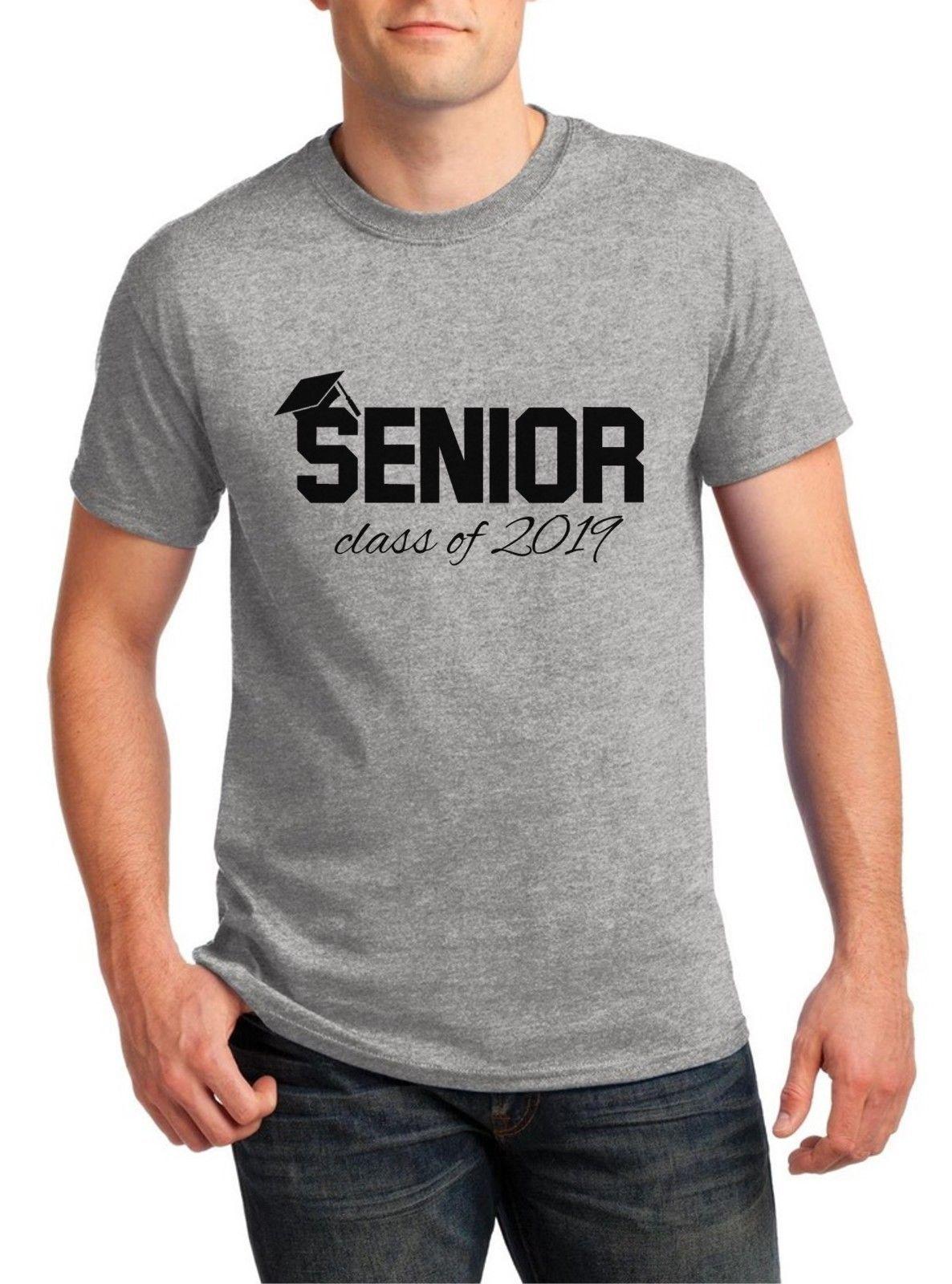 df5a2e974 Compre Hombres De Clase Superior De 2019 Camisa De Regreso A La Escuela  Camiseta Duodécimo Grado 12 TeeFunny Envío Gratis Unisex Casual Camiseta  Regalo A ...