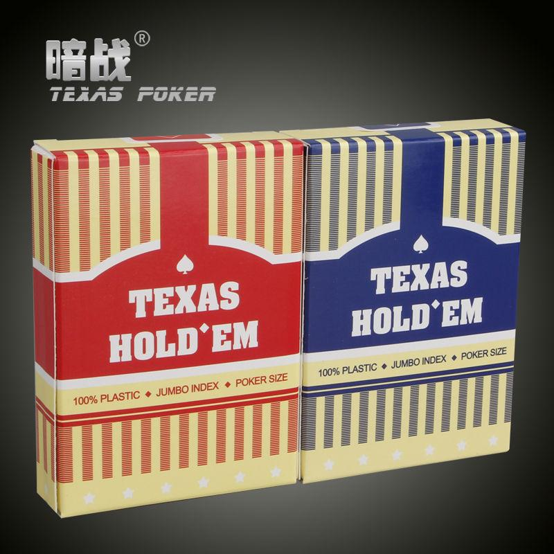 Игральные карты с пластиковыми картами Техасский Холдем Покерные карты Back Scrub Poker Водонепроницаемый и тусклый польский покер Star Zakka Настольные игры