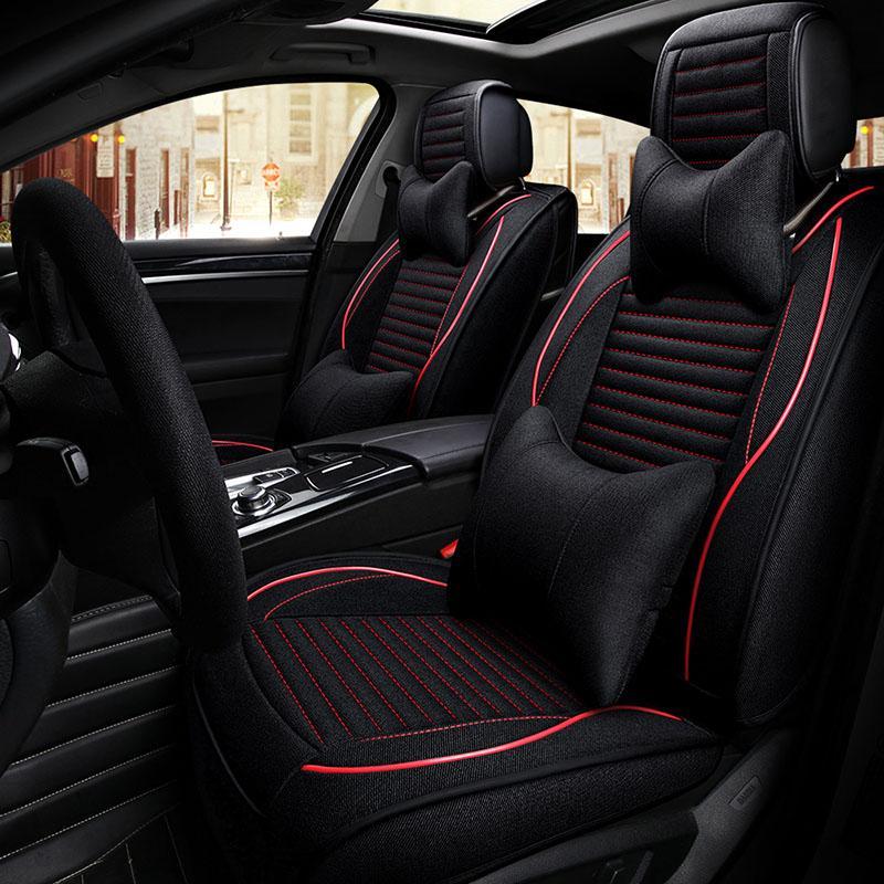 Wholesale Front Rear Seats Universal Automobiles Seat Covers Car Cover For Lada Larqus 2108 2110 Priora Kalina Granta Vesta Xray Super Cheap
