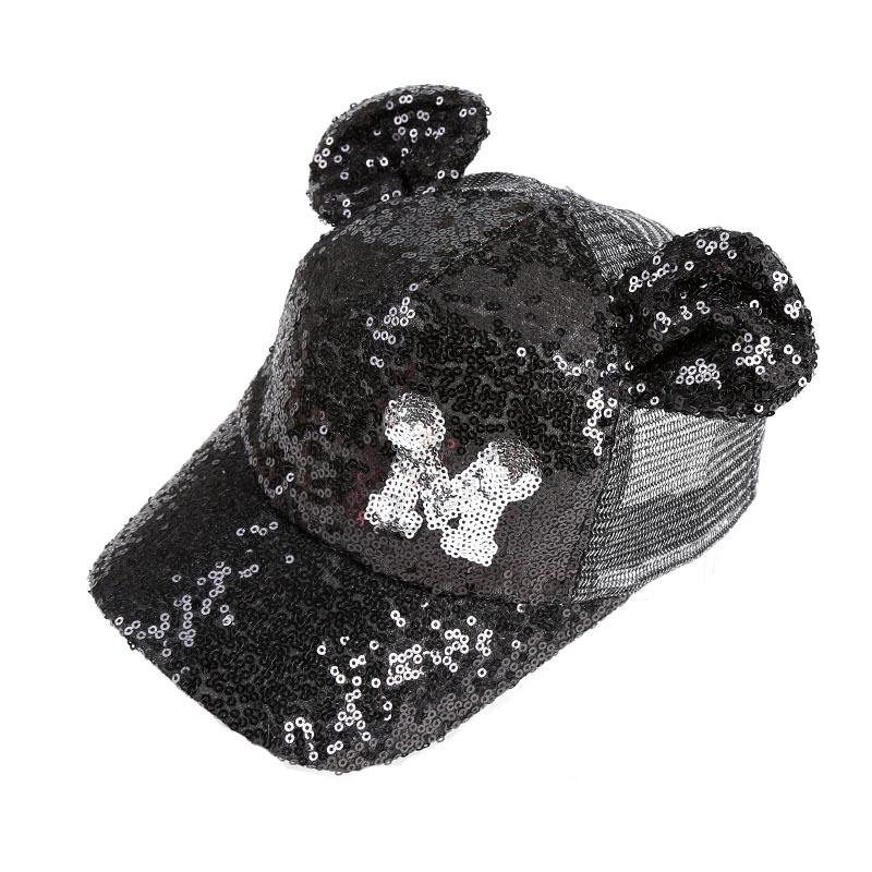 Glitter Ear Hats Lovely Girls Snapback Baseball Cap With Ears Funny Hats  Summer Hip Hop Boy Sequins Caps Make Your Own Hat Basecaps From Heathere 103ad0d8079