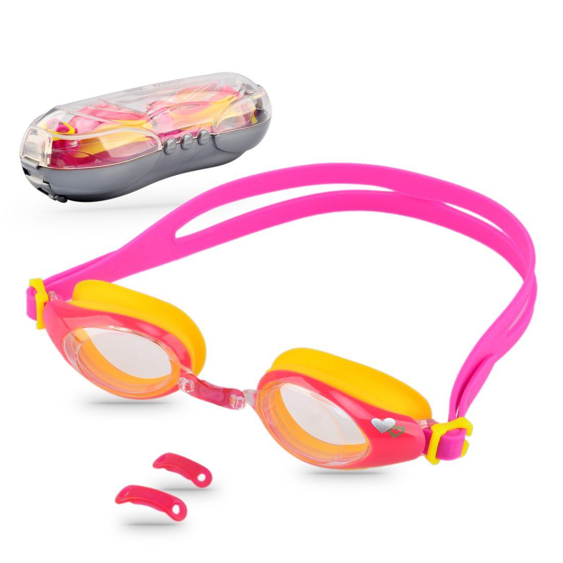 641dea9e4604 2019 UV Protection Kids Swim Goggles Anti Fog Lens Soft Silicone Frame Child  Swimming Goggles For Children From Jersey168