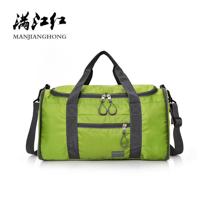 Men Travel Bag Folding Bag Shoulder Portable Women Handbag Waterproof Nylon  Casual Travel Duffel Black Luggage 17 537 Weekender Bags Over The Shoulder  Bags ... 5b01d046f866c