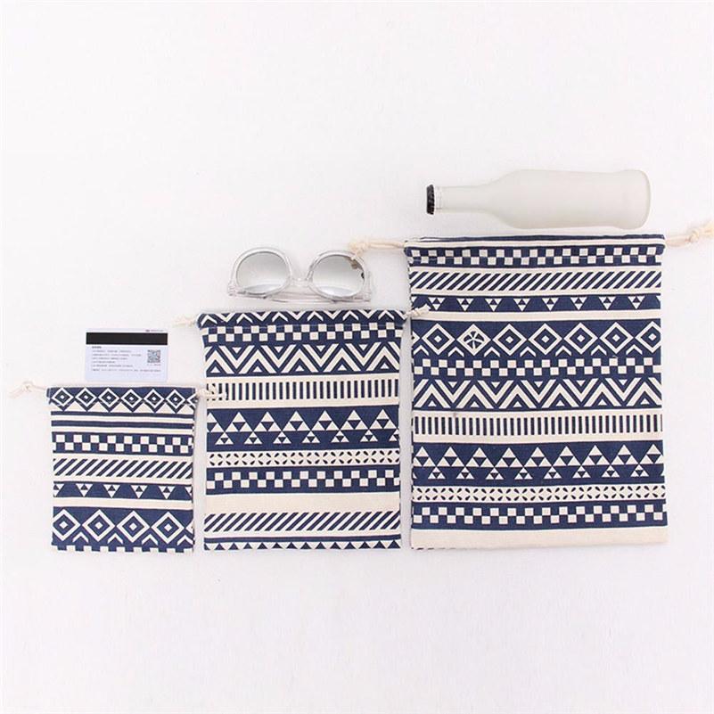 Borsello con styling a strisce con styling nazionale Borsello shopping viaggiare come regalo incantevole S M L Size Travel Bag -