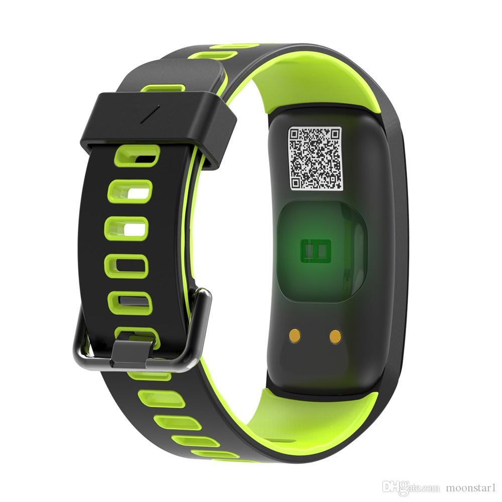No.1 F4 Smart Fitness Armband Smart Uhr IP68 Wasserdichte Herzfrequenz Blutdruck Monitor Schlaf