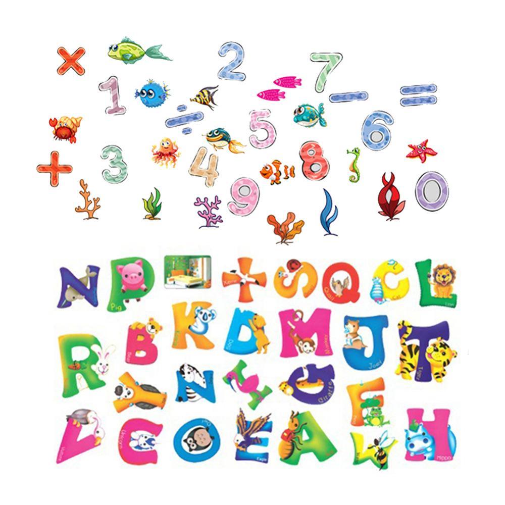 Großhandel 42 * 23 CM Muster Nummer Buchstaben Kinderzimmer ...