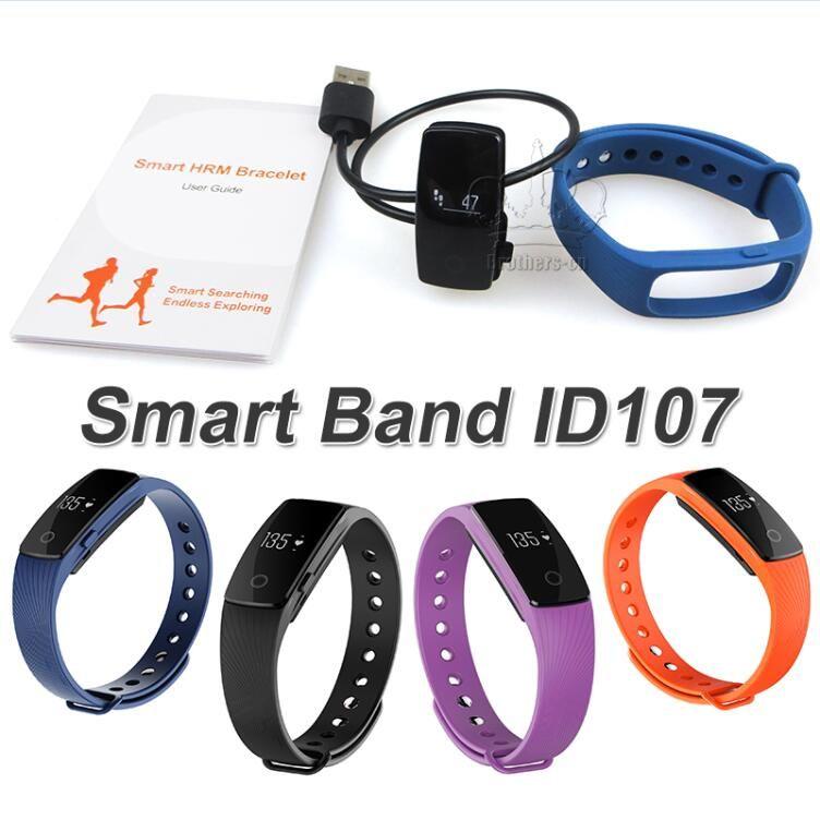 Smart Band Fitness Tracker Sports Smart Bracelet Watch Oled Heart