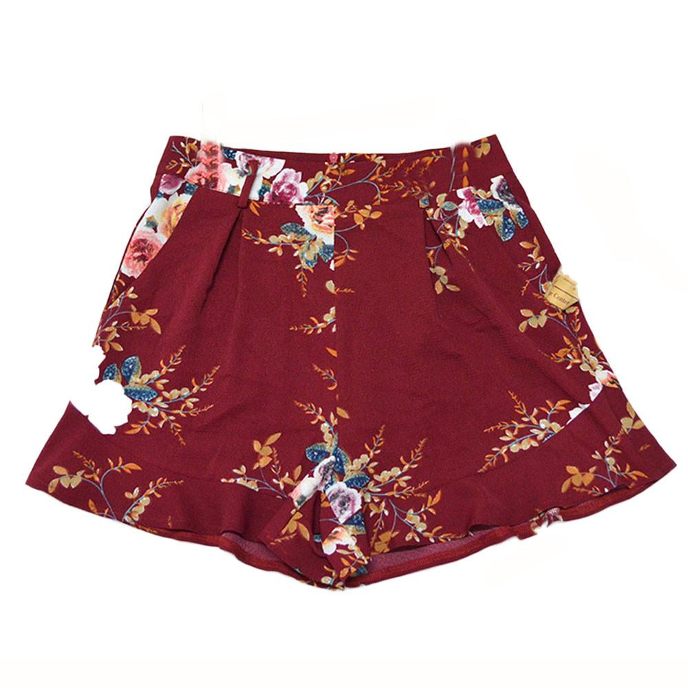 Women Sexy Skirt Summer Print Short Pants #15