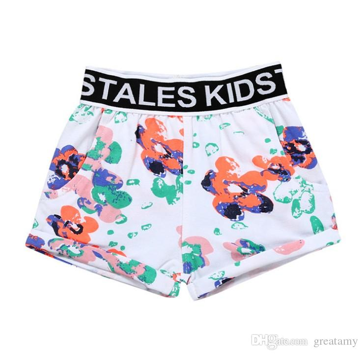 boys shorts summer boy beach shorts kids swimming pant fruit watermelon pineapple leaf flower full printing infant toddler clothing