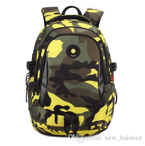 Camouflage Printting Children School Bags for Boys Randoseru Waterproof Nylon School Backpack Kids Bag mochila infantil